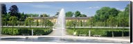 Fountain in a garden, Potsdam, Germany Fine-Art Print