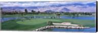 Golf Course, Palm Springs, California, USA Fine-Art Print