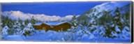 Cabin Mount Alyeska, Alaska, USA Fine-Art Print