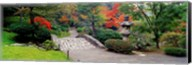 Stone Bridge, The Japanese Garden, Seattle, Washington State Fine-Art Print