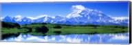 Reflection Pond, Mount McKinley, Denali National Park, Alaska, USA Fine-Art Print