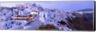 White washed buildings, Santorini, Greece Fine-Art Print