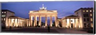 Brandenburg Gate at dusk, Berlin, Germany Fine-Art Print