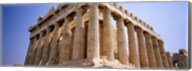 Old ruins of a temple, Parthenon, Acropolis, Athens, Greece Fine-Art Print