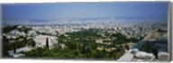 High angle view of a city, Acropolis, Athens, Greece Fine-Art Print