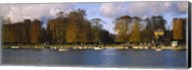 Boats in a lake, Chateau de Versailles, Versailles, Yvelines, France Fine-Art Print