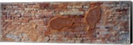 Close-up of a brick wall, Venice, Veneto, Italy Fine-Art Print
