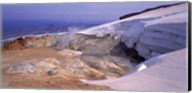 Panoramic view of a geothermal area, Kverkfjoll, Vatnajokull, Iceland Fine-Art Print