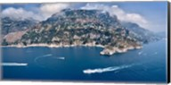 Town at the waterfront, Amalfi Coast, Salerno, Campania, Italy Fine-Art Print