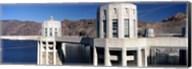 Dam on a river, Hoover Dam, Colorado River, Arizona-Nevada, USA Fine-Art Print