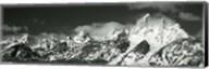 Mountain range, Grand Teton National Park, Wyoming, USA Fine-Art Print