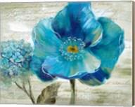 Blue Poppy Poem II Fine-Art Print
