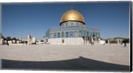 Town square, Dome Of the Rock, Temple Mount, Jerusalem, Israel Fine-Art Print