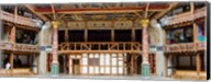 Interiors of a stage theater, Globe Theatre, London, England Fine-Art Print