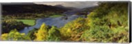 Lake flowing through a forest, Loch Tummel, Pitlochry, Perthshire, Scotland Fine-Art Print
