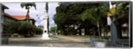 Clock tower in a city, Victoria, Mahe Island, Seychelles Fine-Art Print