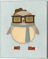 Hipster Owl II Fine-Art Print