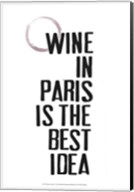 Drinks in Paris II Fine-Art Print