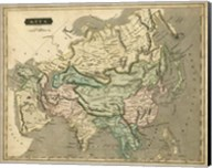 Thomson's Map of Asia Fine-Art Print