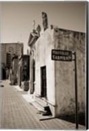 Mausoleums of Domingo Sarmiento in a cemetery, Recoleta Cemetery, Recoleta, Buenos Aires, Argentina Fine-Art Print