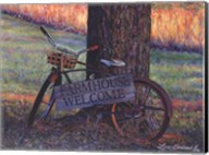 Farmhouse Welcome Fine-Art Print