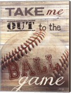Take Me Out to the Ballgame Fine-Art Print