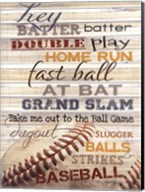Hey Batter Batter Fine-Art Print