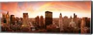 Sunset Skyline Chicago IL Fine-Art Print