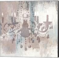 Candelabra Teal I Fine-Art Print