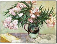 Oleanders and Books, 1888 Fine-Art Print
