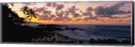 Sunset North Shore, Oahu, Hawaii Fine-Art Print