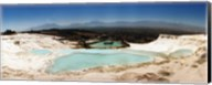 Travetine Pool and Hot Springs, Pamukkale, Denizli Province, Turkey Fine-Art Print
