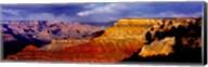 Spectators at the Grand Canyon, Grand Canyon, Grand Canyon National Park, Arizona, USA Fine-Art Print