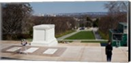 Tomb of a soldier in a cemetery, Arlington National Cemetery, Arlington, Virginia, USA Fine-Art Print