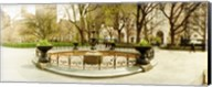 Fountain in Madison Square Park in the spring, Manhattan, New York City, New York State, USA Fine-Art Print