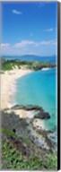 High angle view of a beach, Makapuu, Oahu, Hawaii, USA Fine-Art Print