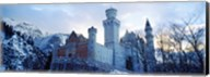 Neuschwanstein Castle in winter, Bavaria, Germany Fine-Art Print