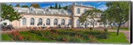 Garden outside a palace, Peterhof Grand Palace, St. Petersburg, Russia Fine-Art Print