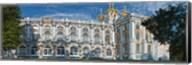 Facade of a palace, Catherine Palace, Tsarskoye Selo, St. Petersburg, Russia Fine-Art Print
