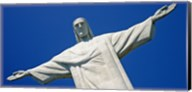 Low angle view of the Christ The Redeemer, Corcovado, Rio De Janeiro, Brazil Fine-Art Print