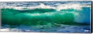 Wave splashing on the beach, Todos Santos, Baja California Sur, Mexico Fine-Art Print
