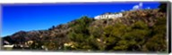 Low angle view of Hollywood Sign, Hollywood Hills, Hollywood, Los Angeles, California, USA Fine-Art Print