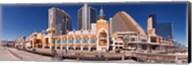 Trump's Taj Mahal Casino along the Boardwalk, Atlantic City, New Jersey, USA Fine-Art Print