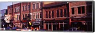 Buildings along a street, Nashville, Tennessee, USA Fine-Art Print