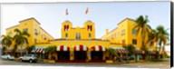 Facade of a hotel, Colony Hotel, Delray Beach, Palm Beach County, Florida, USA Fine-Art Print