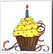 Birthday Cupake Fine-Art Print