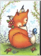 Little Fox in the Garden Fine-Art Print