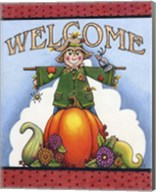 Scarecrow Welcome Fine-Art Print