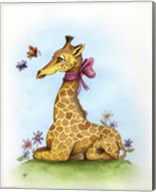 Pretty in Pink Giraffe Fine-Art Print