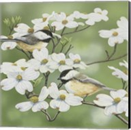 Springtime And Chickadees Fine-Art Print